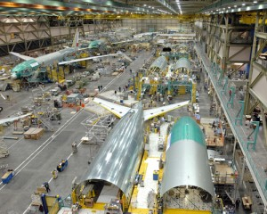 777 Factory - Final Assembly - Everett WA